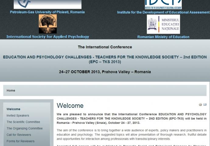 Conferinţa internaţională EPC-TKS 2013